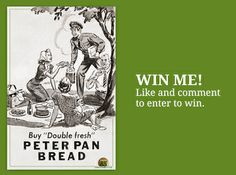 Hey, you can win this limited vintage poster of a Peter Pan Bread ad just by sharing your favorite thing about spring - check it out https://www.facebook.com/WendtAgency #win