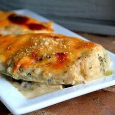 Mozzarella Parmesan Chicken - Food2Fork