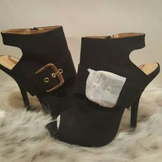 very cute booties, clearing out closet Never worn Shoes Ankle Boots & Booties