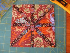 Voila!  A lovely Asterisk Block! by Quilts by Joyce, via Flickr