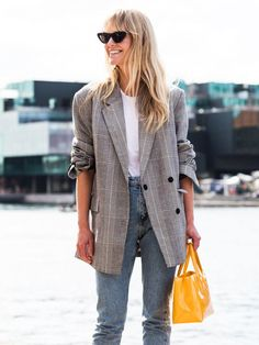 10 Blazers to Wear Now and Keep Forever via @WhoWhatWear