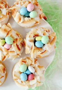 Lemon Laced Coconut Donuts for Easter