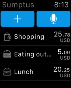 Sumptus Apple Watch App Review