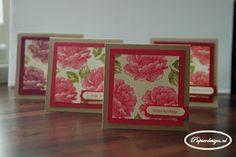Papierdesign met Stampin' Up!: Stippled Blossoms cadeau voor een gastvrouw www.papierdesign.nl