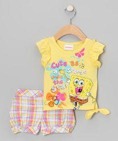 yellow spongebob tee toddler tyxgb76aj this cartoon and freeze