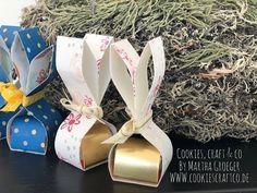 DIY Osterhase - Pralinenverpackung mit Stampin' Up! Produkten - YouTube