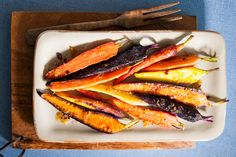 You must try our Roasted Carrots with Sesame-Ginger Glaze. Roasting the carrots intensifies their flavour and the delicious glaze hits it out of the park!