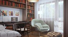 3d Interior Design, Corner Desk, Living Room, Furniture, Home Decor, Corner Table, Decoration Home, Room Decor, Home Living Room