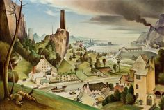 View Landschaft mit brennendem Castell by Franz Sedlacek on artnet. Browse upcoming and past auction lots by Franz Sedlacek. George Grosz, New Objectivity, Dieselpunk, New Artists, Surrealism, Folk Art, Past, Gallery, Painting
