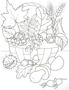 Fruit Coloring Pages, Fall Coloring Pages, Pattern Coloring Pages, Coloring Sheets, October Art, Seasons Activities, Thanksgiving Art, Autumn Crafts, Fruit Art