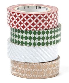 Love this Holiday Season Washi Tape Set on #zulily! #zulilyfinds