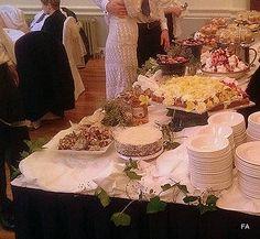Buffet for dessert, great idea, so much choice!