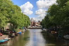 #Gracht in #Amsterdam - #Travel #Photography #Cityscape #Netherlands