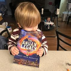 Percy DEVOURING #TheAnuanLegacy in Bellbrook, Ohio!