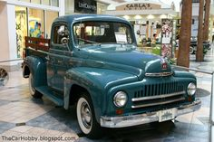 1950's truck  | Spotted - International Harvester L-110 Pickup Truck | The Car Hobby
