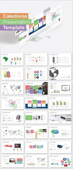 Caledonia Presentation Template - #PowerPoint #Templates Presentation Templates Download here: https://graphicriver.net/item/caledonia-presentation-template/19456977?ref=alena994