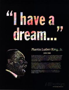 Great Black Americans - Martin Luther King Jr. AllPosters 15€