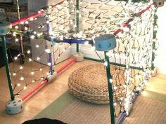 "Loving this light tent at Parker River Community Preschool ("",)"