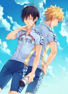 YowaPeda ~~ Rivalry is EVERYWHERE ... and so is the sexual tension! :: HakoGaku