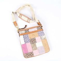 Coach Patchwork Swingpack Pinks Gold Brown Cross Body Bag. Get the trendiest Cross Body Bag of the season! The Coach Patchwork Swingpack Pinks Gold Brown Cross Body Bag is a top 10 member favorite on Tradesy. Save on yours before they are sold out!