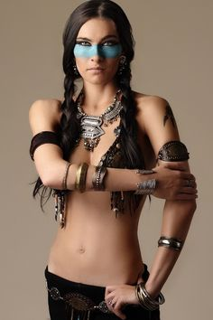 I've always wanted to be a native american. always. but probably with more clothes.