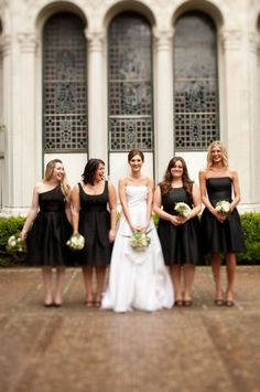 white and black wedding inspiration.