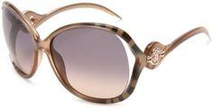 Roberto Cavalli Womens RC575SSW33F Squared Wrap Sunglasses,Gold Frame/Grey Lens,One Size Roberto Cavalli. $202.44. Save 44% Off!