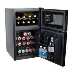 Kalorik 2 In 1 Mini Fridge And Wine Cooler