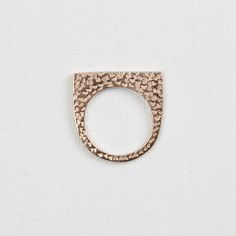 Darkroom Maya Magal Textured Single Ring, Gold