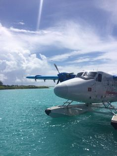 When visiting the Maldives, seaplanes are the ultimate way to travel—the aerial views are simply breathtaking.