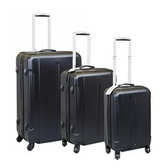LIMITED OFFER [Lifetime Warranty]Vesgantti ® Set of 3 (20/24/28 inch) Light Weight Hard Sided Travel Luggage Suitcase, Trolley Cases Bag, Carry-on and Checked Baggage, With 4 Twin-spinner Wheels (Black) Vesgantti http://www.amazon.co.uk/dp/B019377AYY/ref=cm_sw_r_pi_dp_USBQwb12647J7