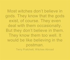terry pratchett quotes witch magic - Google Search