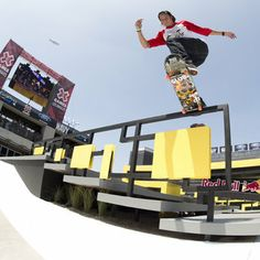 X Games  Skateboarding  2013   Ryan Decenzo terminó cuarto en el evento Street League Skateboarding.