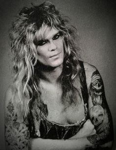 Mean Man Chris Holmes in W.A.S.P.