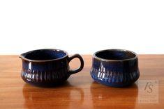 Gefle KOSMOS sugar bowl and creamer - FourSeasons.fi Sugar Bowls And Creamers, Ceramics, Mugs, Tableware, Ceramica, Pottery, Dinnerware, Tumblers, Tablewares