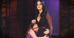 Girl With Autism Joins Katy Perry On Stage for 'Firework' - Music Video