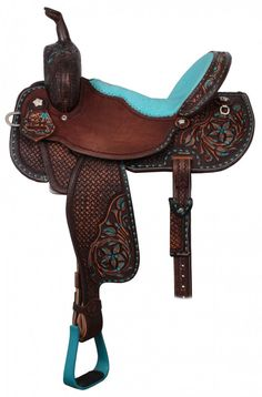 Pozzi Pro Barrel Racer - SBP337 I would probably need a new horse for this saddle!