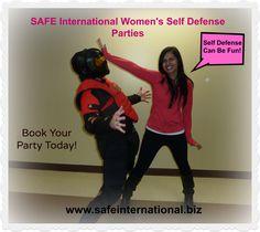 Book a Women's Self Defense Party!