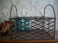 Wire Egg Basket.
