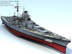 DKM Bismarck | 3DHISTORY.DE