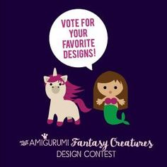 Vote for your favorite amigurumi design (and win 100 Must-Have Minis yarn balls by Yarn and Colors!) - Amigurumipatterns.net
