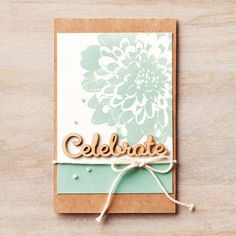 Definitely Dahlia Clear-Mount Background Stamp by Stampin' Up!