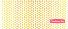 Riley Blake Designs Yellow Ombre Dots Yardage SKU# C310-50