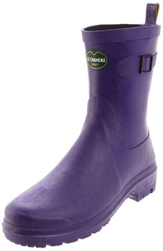 Le Chameau Women's Ladies Low Rubber Boot >>> Visit the image link more details.