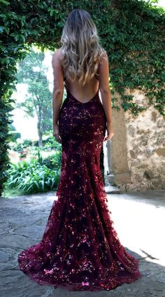 Lovely Prom Dresses Cute Formal Dresses 2019 Sequin V Neck Spaghetti Strap Evening Party Dress Grad Dresses, Ball Dresses, Ball Gowns, Bridesmaid Dresses, Burgundy Prom Dresses, Sports Dresses, Maroon Prom Dress, Sequin Prom Dresses, Sequin Party Dress