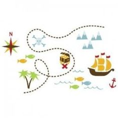 It's adventure on the high seas with a pirate bedroom and a great way to set the theme of the bedroom is with pirate wall decals and stickers....