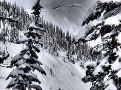 backcountry skiing in Montana at Yurtski