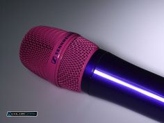 Need a custom microphone? We've got the perfect solution. A colorful Sennheiser microphone in all your favorite colors!