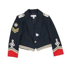 For a BabyGirl....and I die!!! Military jacket by Stella MCCartney