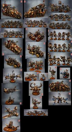 40k - Ork Army by caiman